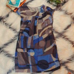 Vince Pattern Dress with Pockets!